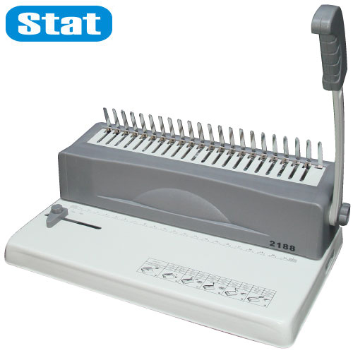 【STAT 裝釘機】 STAT 2188 21孔膠環裝釘打孔機