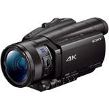 SONY FDR-AX700 4K高畫質攝影機(公司貨)-送128G 記憶卡+FV100高容量鋰電池+專用座充(附車充)+吹球拭鏡筆清潔組+防潮箱