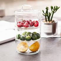 Homely Zakka<br/>清新堆疊玻璃儲物罐