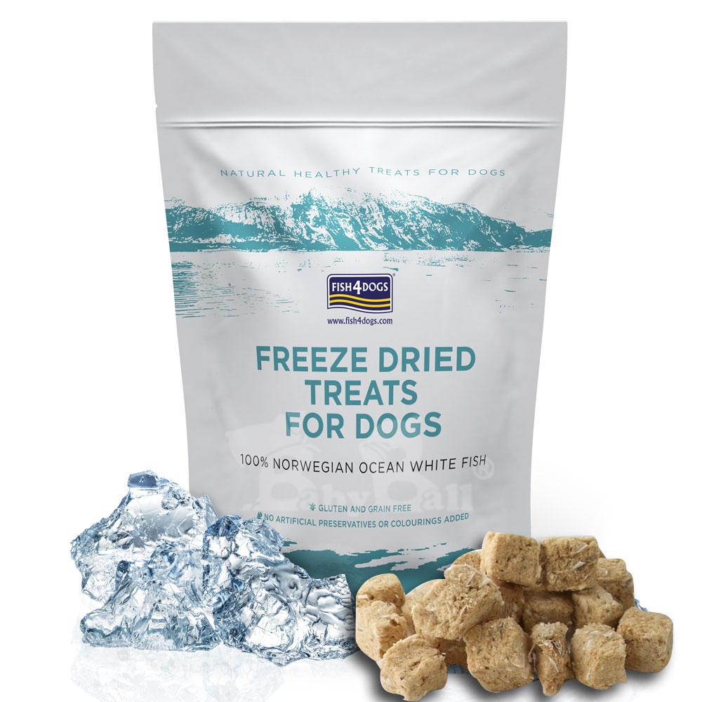 【海洋之星FISH4DOGS】冷凍乾燥全魚肉塊(25g*2包入)-犬貓適用