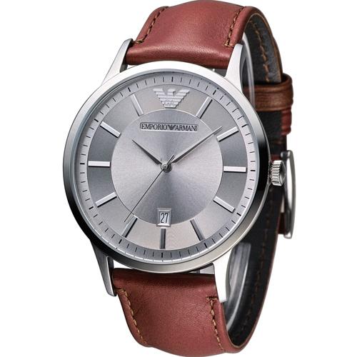 ARMANI 亞曼尼  Classic 簡約內斂時尚腕錶 AR2463