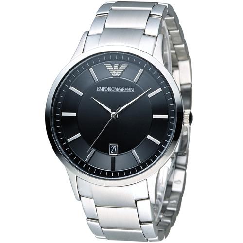 ARMANI 亞曼尼 Classic 簡約內斂時尚腕錶 AR2457