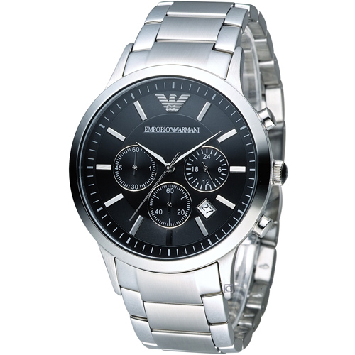 ARMANI 亞曼尼  Classic 時尚計時腕錶 AR2434