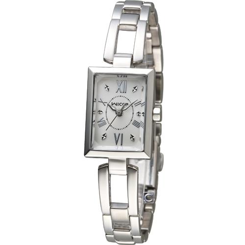 WICCA 俏麗時尚蜜糖魅力腕錶 BE1-011-11 白