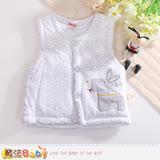 魔法Baby 寶寶外套 嬰幼兒保暖鋪棉背心外套 k60391