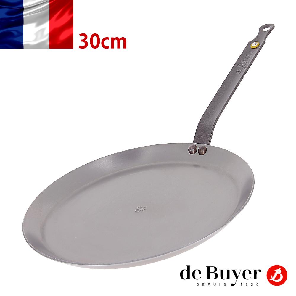 法國【de Buyer】畢耶鍋具『原礦蜂蠟系列』法式可麗餅鍋30cm