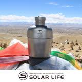 鎧斯Keith Ti3060 純鈦輕量環保軍用水壺