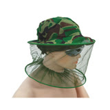 全罩式迷彩防蚊蟲折疊網帽