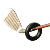 GOLF高爾夫球桿揮桿加重練習鐵圈環