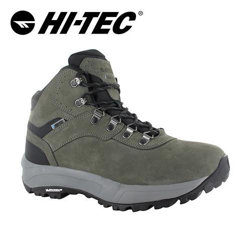 HI-TEC英國OX米其林大底輕量戶外中筒靴(男)O006294051(灰)
