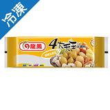 龍鳳四大天王咖哩丸組合326G/包