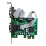 伽利略 PCI-E RS232 2 PORT 擴充卡(PETR02A)