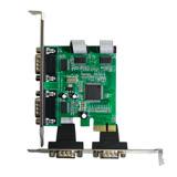 伽利略 PCI-E RS232 4 PORT 擴充卡(PETR04A)