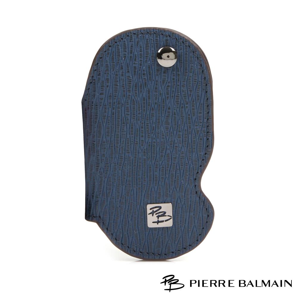 PB皮爾帕門-時尚100%頭層真牛皮單鎖鑰匙包-550