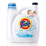 【美國汰漬Tide】超濃縮洗衣精-無色香配方4.43L(150oz)