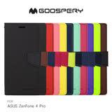 GOOSPERY ASUS ZenFone 4 Pro ZS551KL FANCY 雙色皮套