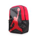 NIKE JORDAN ISO 後背包-雙肩包 旅行包 籃球 飛人喬丹 黑紅 F