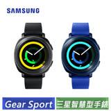 Samsung Gear Sport 智慧型手錶 (SM-R600NZBABRI) 藍色/黑色-【送SAMSUNG原廠帆布錶帶】