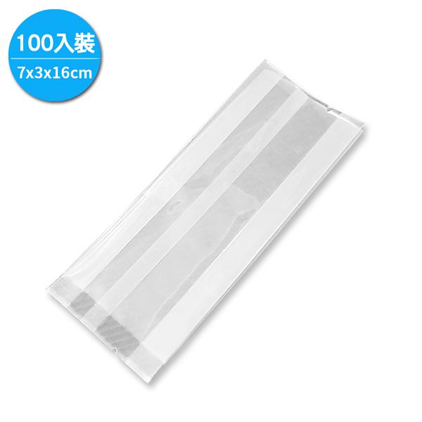 MIT手工皂真空包裝袋100入/7x3x16cm (TPR0059)