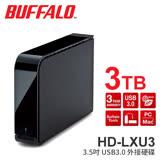 BUFFALO 巴比祿 3TB 3.5吋硬體加密 USB3.0外接硬碟 HD-LXU3