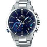 CASIO 卡西歐 EDIFICE 藍芽智慧太陽能手錶-藍 EQB-700D-2A