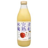 日本【NORA】 津軽完熟蘋果汁 瓶裝 1L