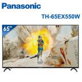 │Panasonic│國際牌 65型 4K智慧聯網顯示器 TH-65EX550W (含基本安裝)