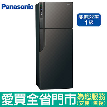 國際485L雙門變頻冰箱NR-B489GV-K