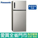 (1級能效)Panasonic國際579L雙門變頻冰箱NR-B589TV-S(銀河灰)含配送到府+標準安裝