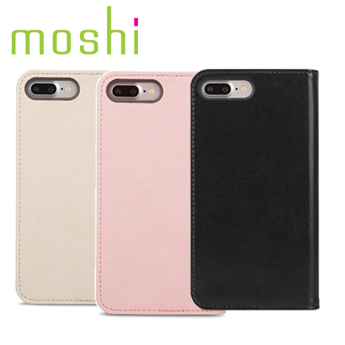 Moshi Overture for iPhone 8 Plus / 7 Plus 側開卡夾型保護套