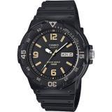 CASIO 卡西歐 DIVER LOOK 潛水運動風手錶-黑 MRW-200H-1B3VDF