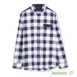 bossini男裝-長袖牛津襯衫01白