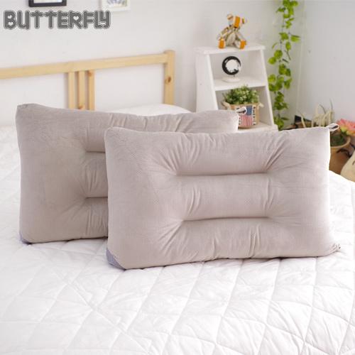 BUTTERFLY - 可水洗彈性枕-灰 快乾滴水網布設計 台灣製造