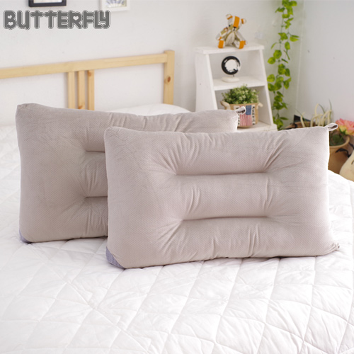 BUTTERFLY ~ 可水洗彈性枕~灰 快乾滴水網布  ~兩入組