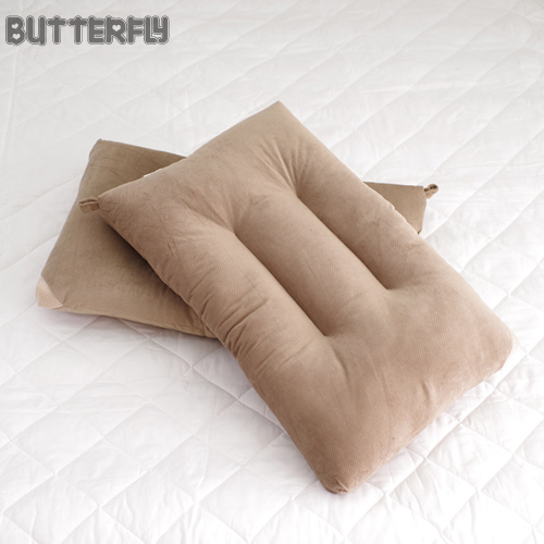 BUTTERFLY ~ 可水洗彈性枕~棕 快乾滴水網布  ~兩入組