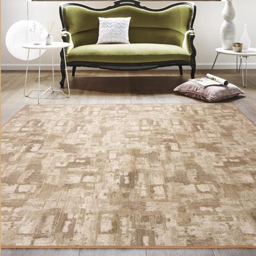 【范登伯格】渲染★漸層抽象復古氛圍進口地毯-大款(淺棕)-200x290cm