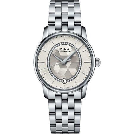 MIDO美永恆系列 晶燦鑲鑽女錶