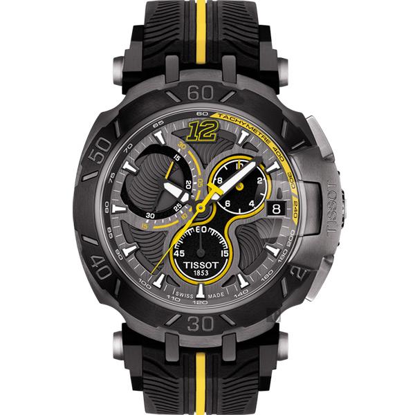 TISSOT天梭 T-RACE THOMAS LUTHI 2017湯瑪斯‧盧蒂限量版賽車錶 T0924173706701