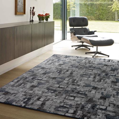 【范登伯格】渲染★漸層抽象復古氛圍進口地毯-大款(深灰)-200x290cm