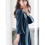 日本ANNA LUNA 預購-優雅蝴蝶結折縫連身洋裝(共四色/M-3L)