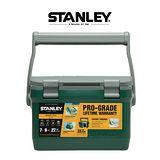 【美國Stanley】6.6L可提式超長效能保溫冰桶/野餐籃-綠 (可攜水壺/做椅子)