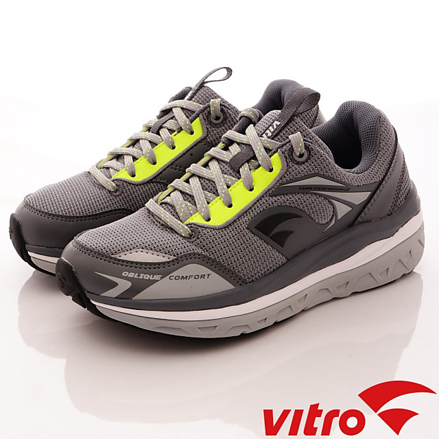 Vitro韓國專業運動鞋-Walking-頂級專業健走機能鞋-OC105-男女-灰綠-23cm-28cm