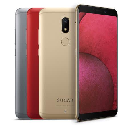 SUGAR C11S 1600萬柔光自拍手機 【贈-曲面保護膜+空壓殼+自拍棒+手機支架】
