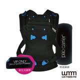 英國WMM-Pao Papoose 3P3 原創款 寶寶揹帶--沉靜黑