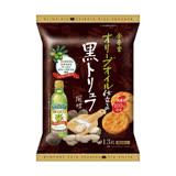 日本金吾堂 黑松露鹽仙貝 13枚/一包