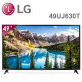 【LG 樂金】 49吋 UHD智慧連網4K電視 49UJ630T 送超商禮券1500+及HDMI線*1+基本安裝