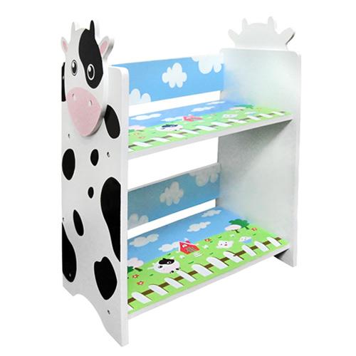 kikimmy 乳牛雙層木製置物櫃