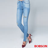 BOBSON 女款1971 日本進口黑標 小直筒褲(BSR010-FE)