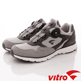 Vitro韓國專業運動鞋Walking-mode step NEO-頂級專業BOA健走鞋-灰-男-26cm-29cm