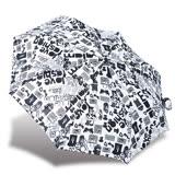 【RAINSTORY】印花文字抗UV隨身自動傘